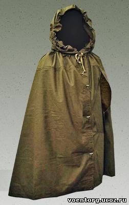Солдатская плащ-палатка инструкция